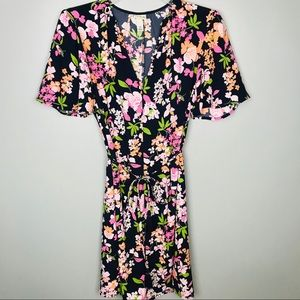A New Day Navy Floral Dress